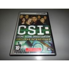 Juego PC Completo PAL ESP CSI Oscuras Intenciones