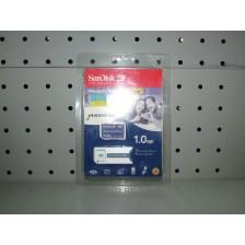 Tarjeta de Memoria y Adaptador Memory Stick Sandisk 1GB