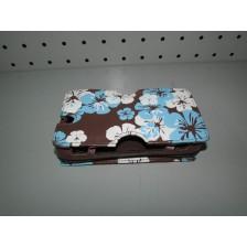 Funda Consola Nintendo DS Lite Marron Flores