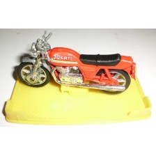 Moto Ducati Roja (Peana) (Mira)